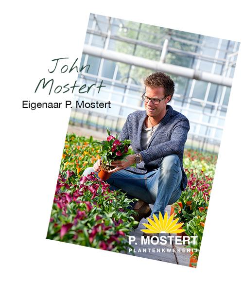 John Mostert van Plantenkwekerij P. Mostert