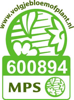 Certificering MPS van Plantenkwekerij P. Mostert